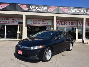 2012 Honda Civic EX 5 SPEED A/C SUNROOF ONLY 70K