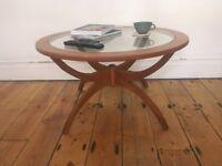 Vintage Mid Century Spider Teak & Glass Coffee Table G Plan Nathan