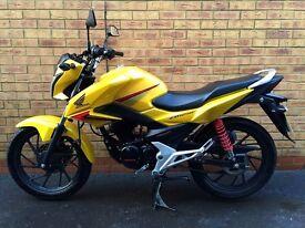 Honda GLR CB125F 125cc *IMMACULATE, FSH & LOW MILES*