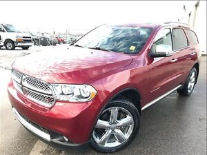 2013 Dodge Durango Citadel -QUAD Buckets/ Luxurio