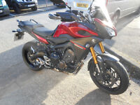 Yamaha Tracer 16 plate less than 3,000 miles