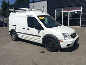 2012 Ford Transit Connect shelving and ladder rack