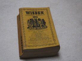 Wisden Cricketers Almanac 1961 Softback