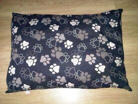 new cushion dog bed £10