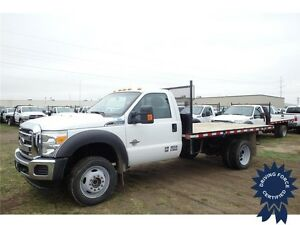2014 Ford Super Duty F-550 DRW XLT Regular Cab 12' Flat Deck