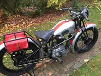 Peugot Vintage Motorcycle 250cc 1930s