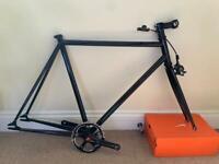 Track frame, brick lane bikes