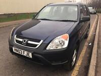 2003 HONDA CR-V 2.0 ONLY £950