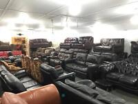 Lisburn leather sofa centre