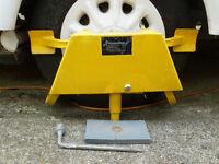 Caravan Wheel Clamp / Leveller