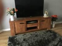 Next Solid Wood TV unit