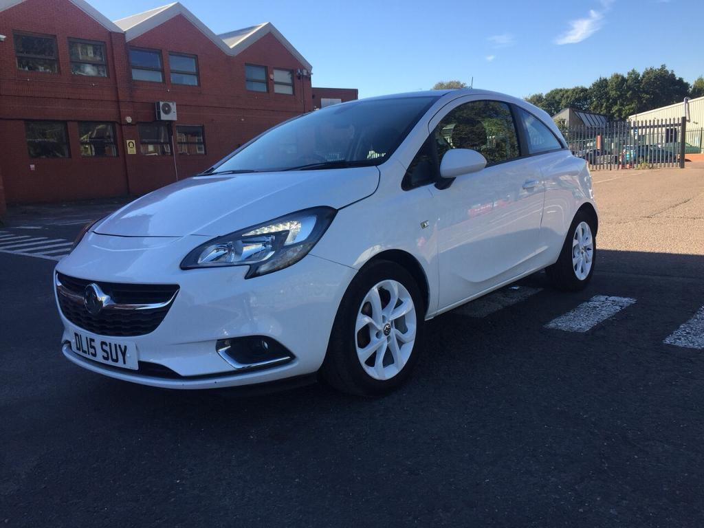 Vauxhall Corsa 2015 petrol full-service history 1.4 manual low milage