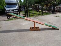 Dog agility seesaw Preston area