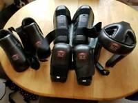 Fuze kickboxing/martial junior padding set