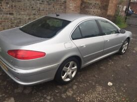 DIESEL AUTOMATIC PEUGEOT 607 2005 5DR FULL YEAR MOT GOOD CONDITION