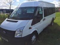 FORD TRANSIT, 17 SEATER MINI BUS, 2013, ONLY 10,000 MILES **FINANCE THIS FROM £50 PER WEEK**