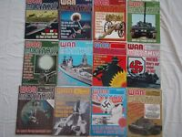 War Monthly Magazine; 12 issues from 1975/76 - £5 the lot or 50p each