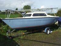 Sailfish 18 Sailing boat yacht trailer sailer