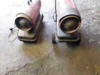 Diesel space heaters spares or repairs