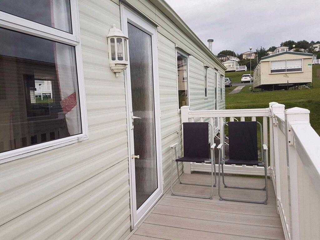 Deluxe 2bedroom caravan for hire Haven Craig Tara