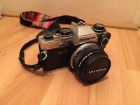Olympus OM-10 35mm Camera with Manual Adapter