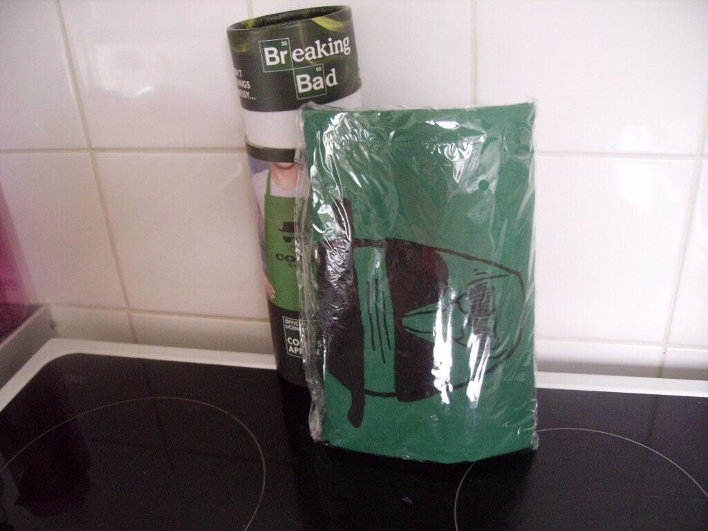 Walter white green apron - Breaking Bad Green Apron New Item