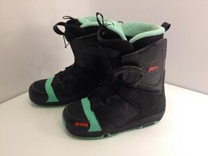 Salomon Faction men's snowboard boots, size 9.5 US, 43 EUR, speed lace