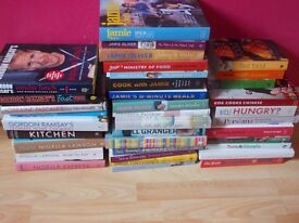 Cook books from various chefs x38
