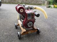 BSA AND LISTER L1 STATIONARY ENGINES
