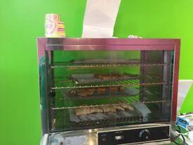 Hot display for restaurants or cafe