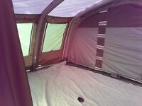 Wolf Lake 9e Tent, carpet and underlay