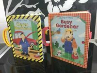 CLIP & CARRY TOTS BOARD BOOKS - BUSY GARDENER / CLEVER MECHANIC