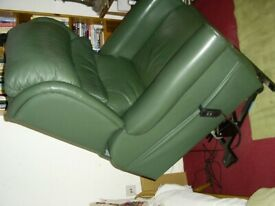 Electric operated recliner arm chair