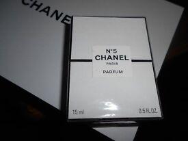 chanel no5 15ml pure perfume unused