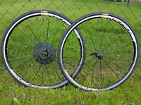 Mavic Aksium elite NEW wheelset with tyres