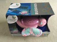 Slumber buddies butterfly night light