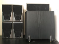 Mission M2S 5.1 home cinema Speakers 5.1 subwoofer may need fuse replaced inside