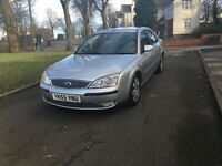 """2005 (55) FORD MONDEO ZETEC 1.8 PETROL LONG MOT """"LOW MILEAGE + DRIVES VERY GOOD + MUST BE SEEN"""""""