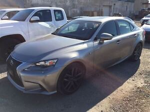 2014 Lexus IS 250 **  F Sport Prem **  Nav **