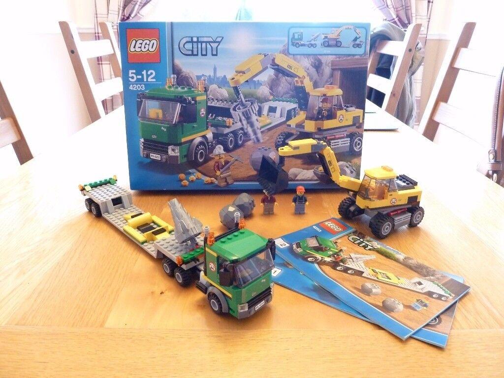 Lego City (4203) Excavator Transport