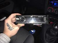 Jvc USB and aux only