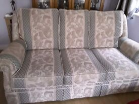3 Piece Suite and Footstall