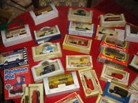 COLLECTION OF OVER 50 BOXED VEHICLES LLADRO CORGI ETC