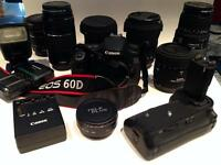 camera and lens bundle for sale by owner (used)
