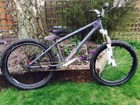 Curtis MX24 Bike with Fox Float Forks (dirt jump, street, bmx bike)