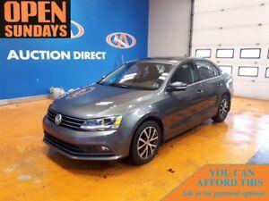 2015 Volkswagen Jetta 2.0 TDI DIESEL! SUNROOF! ALLOYS!
