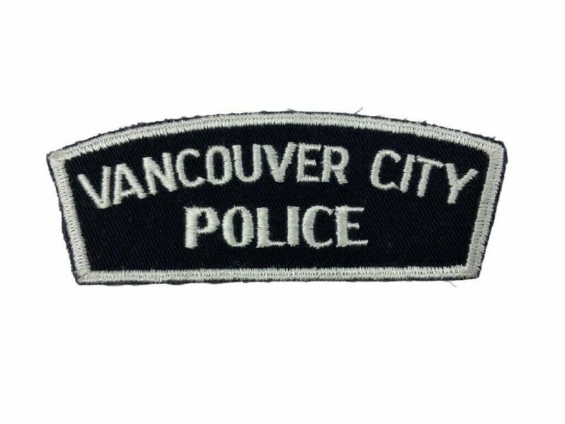 Canadian Vancouver City British Columbia Police Service Patch