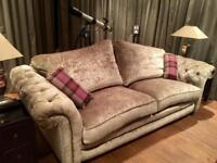 Loch levin grand pillow back sofa (antique finish)