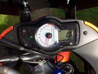 2007 Kawasaki versys kle 650 burnt orange kandy the best colour