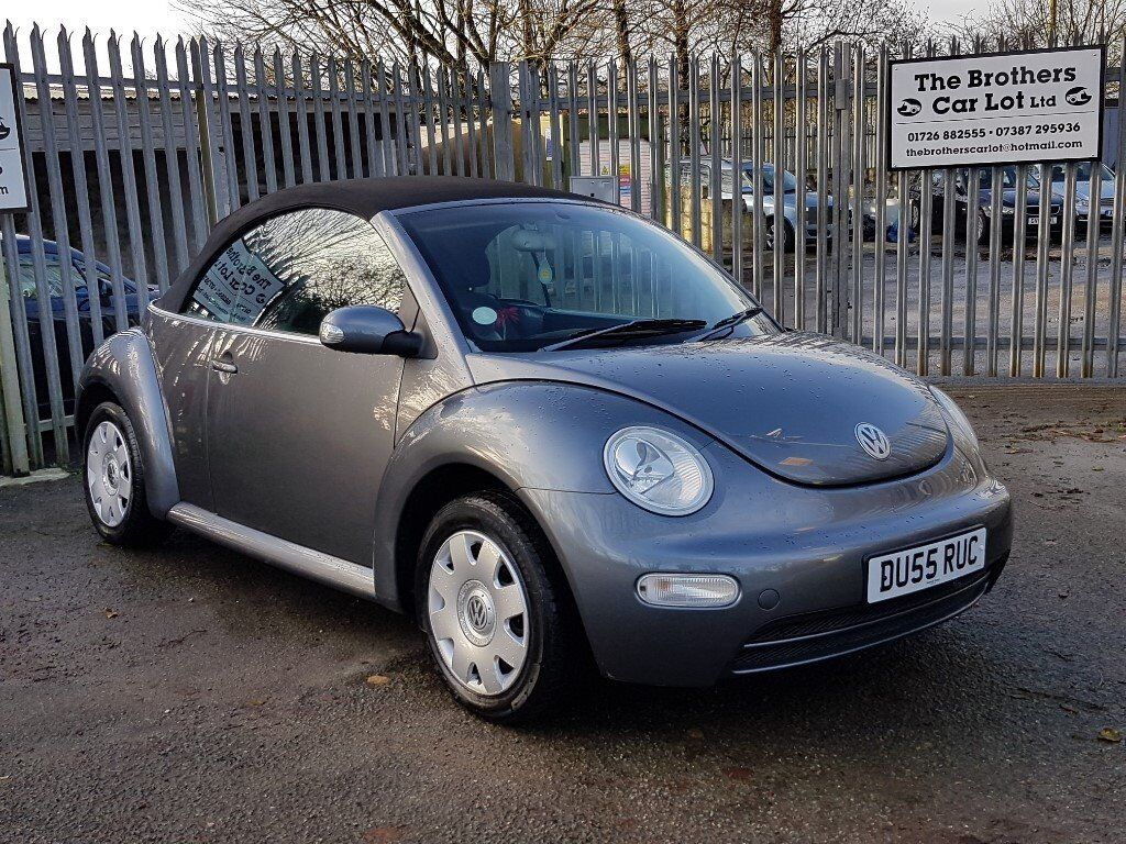 2005 vw beetle cabriolet grey in truro cornwall gumtree. Black Bedroom Furniture Sets. Home Design Ideas